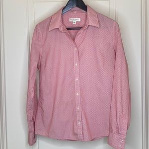 Banana Republic no iron fitted button down
